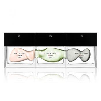 Parfums Starck ParisPeau de soie, Peau de pierre, Peau d'ailleurs