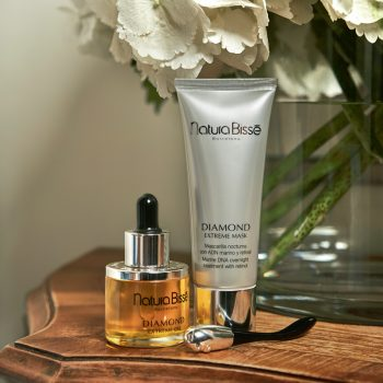 The new Natura BisséDiamond Extreme Night Dual Treatment